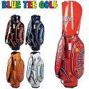 ブルーティーゴルフ 9型 エナメル キャディバッグ BTG-CB-005【新品】Blue Tee Golf California ゴルフ用バッグ メンズ レディース JUL…