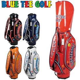 ブルーティーゴルフ 9型 エナメル キャディバッグ BTG-CB-005【新品】Blue Tee Golf California ゴルフ用バッグ メンズ レディース ブルーティ
