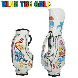 ブルーティーゴルフ 9型 キャディバッグ ALOHA ON THE BEACH アロハオンザビーチ ソフトエナメル CB009 【新品】 Blue Tee Golf California ゴルフ用バッグ JAN1 JAN2