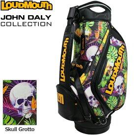 【予約】【世界限定生産10本】ラウドマウス 11型 3点式 キャディバッグ Skull Grotto スカルグロット ジョン・デーリー ツアーレプリカ JD-CB0003LTD 770999-186 【日本規格】【新品】 20FW Loudmouth