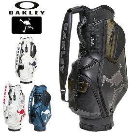 【即納在庫あり】オークリー メンズ 9.5型 キャディバッグ SKULL GOLF BAG 14.0 FOS900201 【新品】20FW OAKLEY ゴルフ用バッグ AUG2 AUG3
