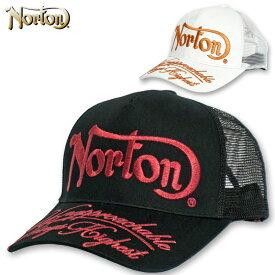 ノートン 2020 スナップバック ラメ刺繍 メッシュキャップ 202N8703 Norton 春夏 【新品】20SS 帽子 CAP メンズファッション カジュアル MAR3 APR1