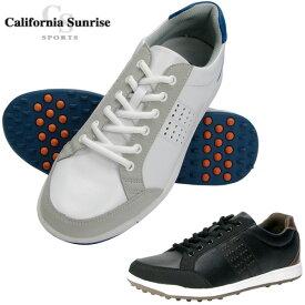 朝日ゴルフ California Sunrise Sports カリフォルニアサンライズ スパイクレスゴルフシューズ CSSH-3611 全2色【新品】16メンズ男性紳士用 %off