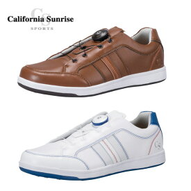 朝日ゴルフ California Sunrise Sports カリフォルニアサンライズ スパイクレスゴルフシューズ 幅/3.5E CSSH-3721RF【新品】メンズ男性用紳士用ME'SMENS' %off