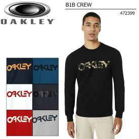 オークリー メンズ クルーネック スウェットシャツ 472399【新品】18FW Oakley B1B CREW メンズウェア Tシャツ メンズファッション カジュアル %off