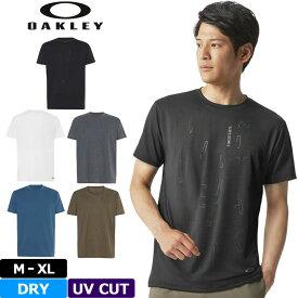 【メール便発送】オークリー メンズ 半袖 Tシャツ Qd18 Veil SS Tee 434261 【新品】 18FW Oakley シャツ エンハンス クルー スポーツウェア メンズウェア トップス 【OASL】 %off