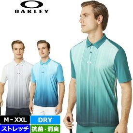 【メール便発送】Oakley オークリー インフィニティ ライン ゴルフ ポロ メンズ 半袖 ポロシャツ 434309 Infinity Line Golf Polo 【新品】19SS ゴルフウェア %off