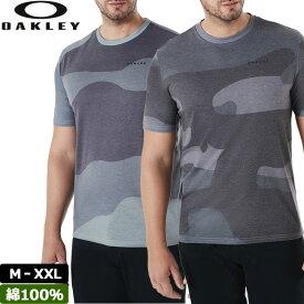【メール便発送】Oakley オークリー メンズ 半袖 Tシャツ Big Camou SS 457349 【新品】 18FW 迷彩 シャツ メンズファッション メンズウェア トップス 【OASL】 %off