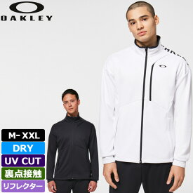 オークリー 2021 メンズ エンハンス テック ジャージー ジャケット FOA402385 吸水速乾 春夏 【新品】21SS Oakley Enhance Tech Jarsey Jacket 11.0 ブルゾン メンズウェア アウター