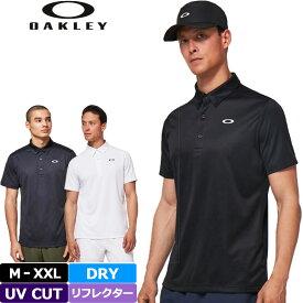 オークリー 2021 吸汗速乾 UVカット 半袖ポロシャツ FOA402419 Enhance SS Polo Jacquard 11.0 春夏秋 【メール便発送】【新品】 21SS Oakley ゴルフウェア APR3