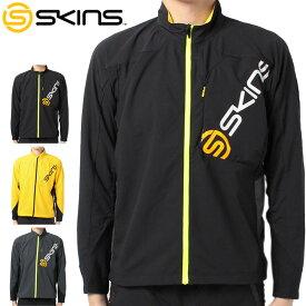 スキンズ ウインド ジャケット SRS5601 【新品】SKINS フルジップ ランニング トレーニング 陸上競技 フィールド トラック %off