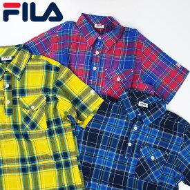 【メール便可250円】【45%off】フィラゴルフ メンズ 半袖シャツ 747613 FILA Golf 春夏【新品】17SSゴルフウェア男性紳士用半そでシャツトップスアパレル