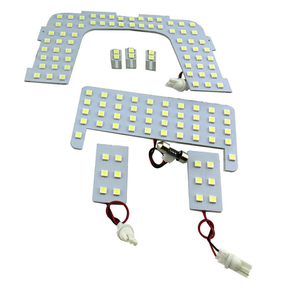 TOYOTA トヨタ PRIUS プリウス 50系(B)新型 LEDルームランプ 室内灯 7点/372発 Sグレード以外 3chip SMD E/A/Aプレミアム Sツーリングセレクション Aツーリングセレクション Aプレミアムツーリングセレクション ホワイト白