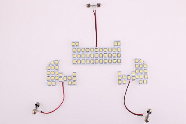 HONDA ホンダ NBOX N-BOXカスタム 専用 LEDルームランプセット 3チップSMD79個で237発相当 前期対応 室内灯 白光 ホワイト 取付工具付き!