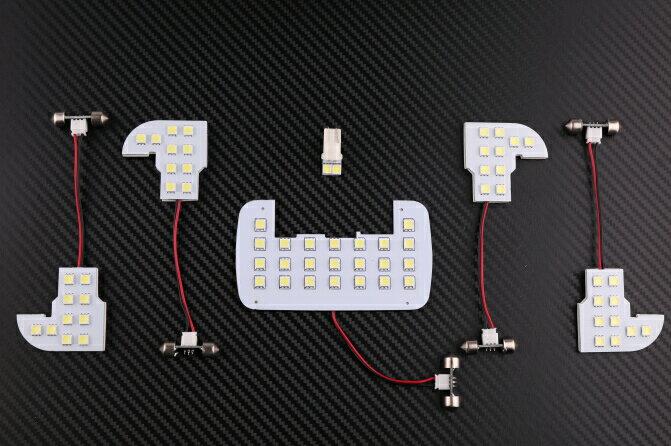 HONDA ホンダ ODYSSEY オデッセイ RB1 RB2 専用設計 LED ルームランプ セット 室内灯 6点/195発 フロントルームランプ/セカンドランプ/リアランプ/ラゲッジランプ 白光 ホワイト 取付簡単!