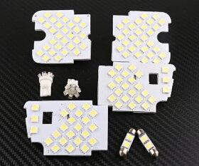 MAZDAマツダAtenzaアテンザセダン/アテンザワゴンGJ系専用専用設計LEDルームランプセット8点/342発フロントランプ/リアランプ/バニティランプ白光ホワイト取付簡単!