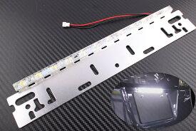 防水仕様 汎用 LED ナンバープレート 灯 ライセンスランプ 12W 840LM DC12V ホワイト白