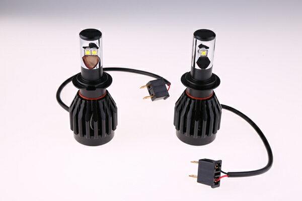 蔵払い 送料無料 H7・HB3/9005・HB4/9006 LEDヘッドライト K4-2HL 四点発光 クリー CREE製LED採用 XM-L2チップ 一体型 爆光 30W 3600LM 6500K フォグ DC12-24V HID交換 白光 大安売り 激セール