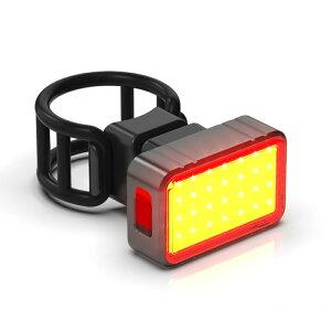 [ポイント5倍]自転車用テールライト 自転車ライト LED 自動点灯 USB充電 防水 尾灯 リアライト 3つ点灯モード ブレーキ感知 高輝度