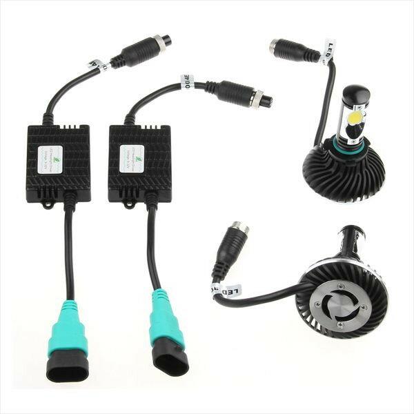 送料無料 激セール H7・H8/H11・HB3/9005・HB4/9006 LED ヘッドライト クリー CREE製LED採用 48W 4400LM 5000K CXA 1512チップ COB面発光 フォグ 2個セット LEDフォグランプ 蔵払い