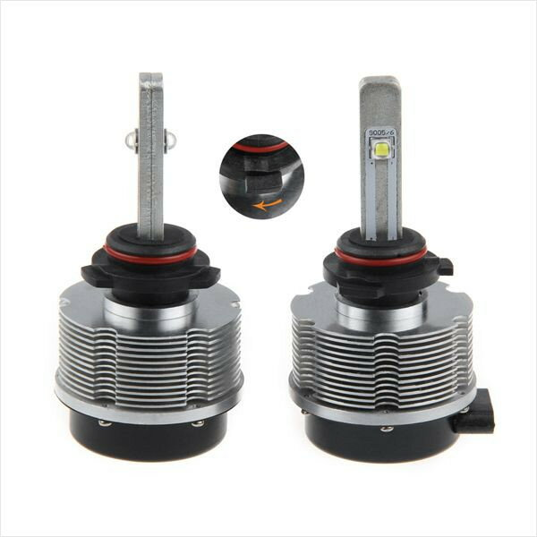 送料無料 次世代 LEDヘッドライト HB4(9006) クリー CREE製LED採用 L2チップ 正規品 蔵払い 激セール 2400LM コントローラー・バラスト不要 ヘッドランプ フォグランプ 片側20W 6000k 12v/24v