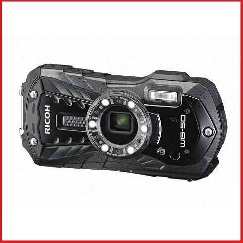 リコー RICOH コンパクトデジタルカメラ WG-50 ブラック WG50