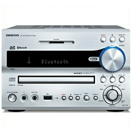 ONKYO オンキョーBluetooth対応/CD/SD/USBレシーバー NFR-9TX(S) [NFR9TX]