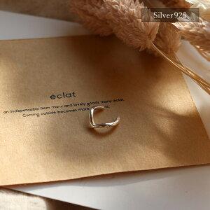 【eclatエクラ】Silver925VCutEarcuff【追跡可能メール便送料210円】e0345