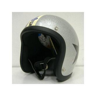 TOYS McCOY (toys McCoy) BUCO HELMET ALUMINUM FLAKE [WILD ONE/60'&70'] Wilde one / helmet!