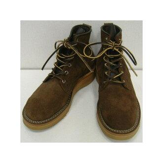"VIBERG Boots(ヴァイバーグ/ヴァイバー/ヴィバーグ)[6""BOBCAT #36 SUEDE] 6英寸/鲍勃猫/工作长筒皮靴!"