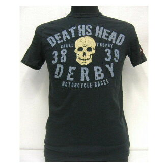 Johnson Motors(约翰逊马达)Made in U.S.A.[Death Head Derby]短袖T恤!