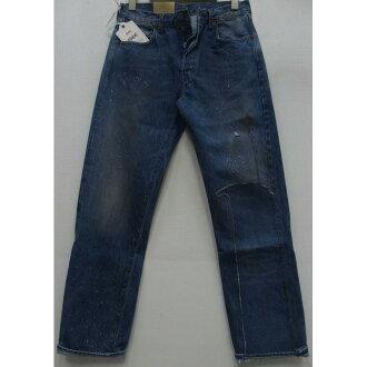 LEVI'S-XX(李維斯)VINTAGE CLOTHING[Seasonal Essentials Bottoms/Lot.6萬6501]復古/牛仔褲/再作/損傷/yuzudo加工!