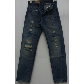 LEVI'S-XX (Levis) VINTAGE CLOTHING [1954 501 Jeans/Lot .50154 Newman] zipper fried food / ユーズド / damage / remake / jeans!