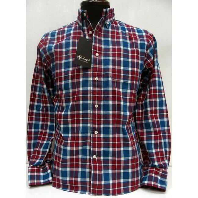 Sweep!!(スウィープ)[Sheeting Check Button Down Shirts]シーチング チェック/ボタンダウンシャツ/長袖シャツ!