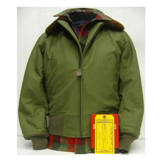 THE REAL McCOY'S(真实麦科伊)Military Jacket[TYPE B-15/REAL McCOY MFG.CO.]军事飞行员茄克/B-15!