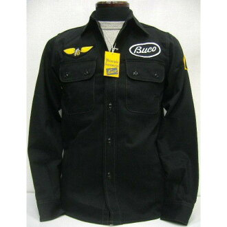 THE REAL McCOY'S(真实麦科伊)BUCO(buko)[CLUB SHIRT/SALT LAKE M.C.]骑手/长袖子衬衫!