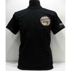 ★【2019年/新色】Deluxeware(デラックスウエア) [Original Heavy Weight Tee/Lot.BRG-01B DLTY3/Deluxeware-Black]ロゴ 3本針バインダーネック 半袖Tシャツ 日本製!