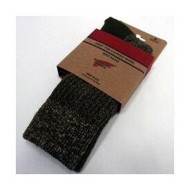 RED WING(レッドウィング)[Deep Toe-Capped Wool Boot Socks/1P] Made in U.S.A./ディープ・トゥキャップド・ウール・ブーツ1ソックス/純正品/オリーブ/靴下!