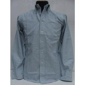 BAGGY(バギー)HEAVY OXFORD FABRICK [Tattasoru/Blue]ボタンダウンシャツ/オックスフォード/長袖シャツ/ブルックス・ブラザーズ/brooksbrothers/タッタソールチック!