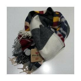 GLEN PRINCE(グレンプリンス)[Pure New Wool Scarf-Muffler/Lot.SLW117-Multi]Made in Scotland/スカーフ/ストール/マフラー/ユニセックス/ユニオンジャック/マルチカラー/パッチワーク!