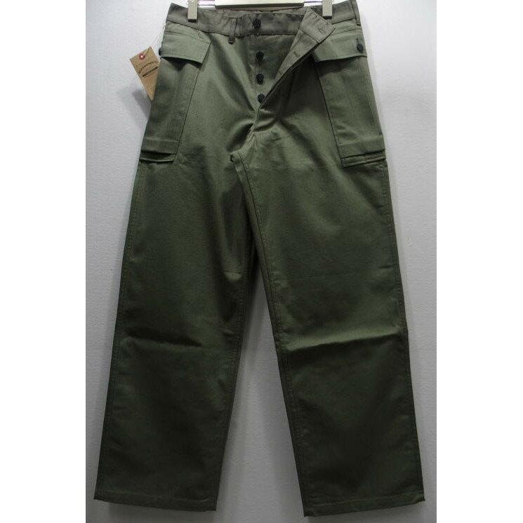 WAREHOUSE(ウエアハウス) Military Pants [U.S.ARMY Herringbone Pants/Lot.1098]ミリタリーパンツ サイドポケット カーゴパンツ ヘリンボーン Lot 1098 日本製!