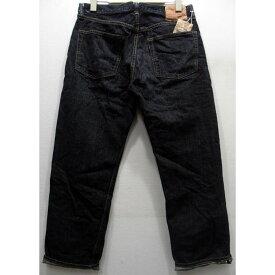 【2020盛夏 再入荷】WAREHOUSE(ウエアハウス) [2ND-HAND Lot.1100/Real Vintage Dark Black Used Wash-Tight Fitting]セカンドハンド セコハン ブラックデニム 2ND-HAND 1100 BLACK (USED WASH 濃)