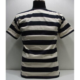 WAREHOUSE(ウエアハウス)Original Tee [2 inch Border T-Shirt/Lot.4050-Navy×Ivory]ボーダー 2インチボーダーT バスクシャツ 半袖T-シャツ!