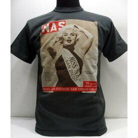TOYS McCOY(トイズマッコイ)[Marilyn Monroe Tee/PICTURE]マリリンモンローTEE ミスナバル エアステーション 半袖Tシャツ 日本製!