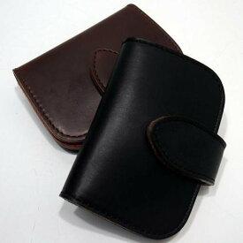 Butler Verner Sails(バトラーバーナーセイルズ)[HORWEEN Chromexcel Leather Mini Wallet]ホーウィンレザー 牛革 ミニウォレット 小銭入れ コインケース ユニセックス 日本製!