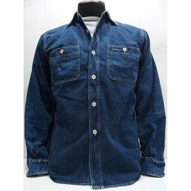 【再入荷】WAREHOUSE(ウエアハウス) [2ND-HAND DENIM WORK SHIRTS/USED WASH]セカンドハンド セコハン デニムワークシャツ USED WASH 日本製