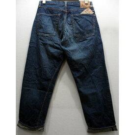【2020春夏 再入荷】WAREHOUSE(ウエアハウス) [2ND-HAND Lot.1105/Real Vintage Dark Used Wash/Zipper-fly]セカンドハンド セコハン デニム テーパードジーンズ ジッパー USED WASH 濃