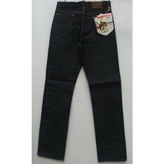 真正复古李 (李) [52 车手模型 101Z] 牛仔长裤 / 牛仔裤 / 安慰 / 拉链 / 日本制造!