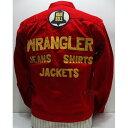 【希少です】Wrangler(ラングラー)Archive Real Vintage [Champion Jacket/12MJ-Red]ジージャン チャンピオンジャケ…