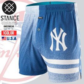 【メール便対応】メンズ 下着 NYロゴ ボクサーパンツ ボクサー MLB ヤンキース 野球 ランニング スポーツ トレーニング おしゃれパンツ 海 夏 B系 ファッション ストリート系